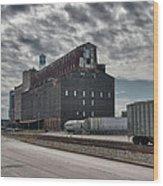 Ohio Street Mill Wood Print
