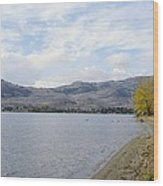 Okanagan Fall Wood Print