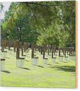 Oklahoma Memorial II  Wood Print