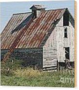 Ol Barn 32 Wood Print