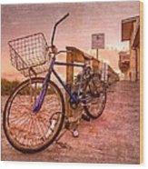 Ol' Bike Wood Print