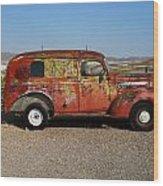 Ol Rust Bucket Wood Print