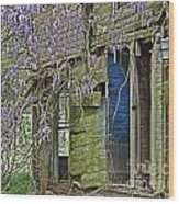 Old Abandoned House Wood Print