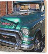 Old American Gmc Truck . 7d10665 Wood Print