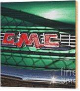 Old American Gmc Truck . 7d10666 Wood Print
