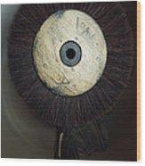 Old Ancient Shoemaker Brush  Wood Print