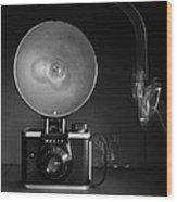Old Ansco Camera  Wood Print