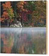 old Autumn Wood Print