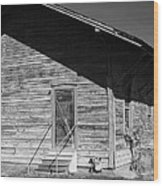 Old Belle Mina Railroad Station Wood Print