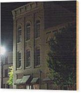 Old Building In Calhoun Ga Wood Print