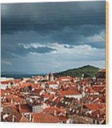Old City Of Dubrovnik Wood Print