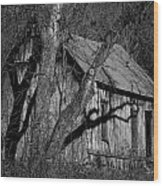 Old Clark Homestead Lost Valley Wood Print