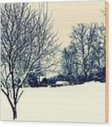 Old Country Christmas 3 Wood Print