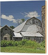 Old Dairy Barn 2 Wood Print