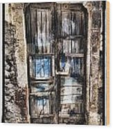 Old Door Wood Print by Mauro Celotti