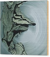 Old Drawing Called Serenity 2   Wood Print