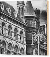 Old Dublin Wood Print