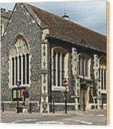 Old English Church Uxbridge Uk Wood Print