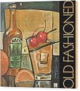 Old Fashioned Poster Wood Print