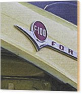 Old Ford Pick-up Wood Print