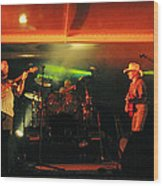 Old Friends Band Reunion Wood Print