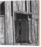 Old Frisco Barn Wood Print