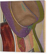 Old Hat Wood Print