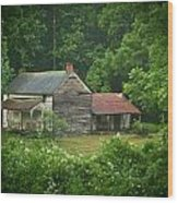 Old Home Place Wood Print by Douglas Barnett