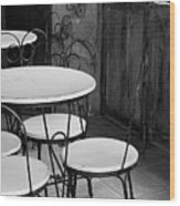 Old Ice Cream Parlor Wood Print