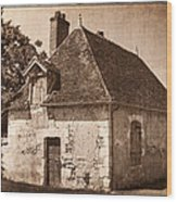 Old Kitchen House Wood Print