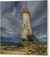 Old Lighthouse Wood Print
