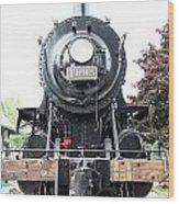 Old Locomotive Wood Print