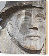 Old Man Of The Sea Wood Print