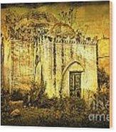 Old Masjid Wood Print