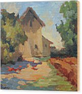 Old Mill Provence Wood Print