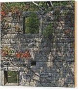 Old Mill Wall Wood Print