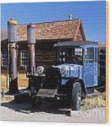 Old Mining Days - Bodie, Ca Wood Print