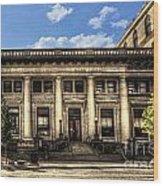 Old Post Office Morgantown Wv Wood Print