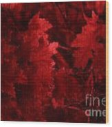 Old Red Wood Print by Marjorie Imbeau