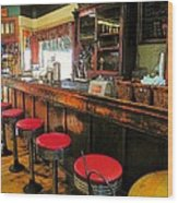 Old Soda Shoppe Wood Print by Joyce Kimble Smith