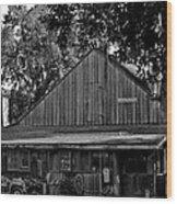 Old Spanish Sugar Mill Wood Print