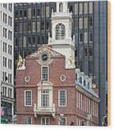 Old State House II Wood Print