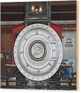 Old Steam Locomotive Engine 5 . The Little Buttercup . 7d12920 Wood Print