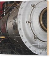 Old Steam Locomotive Engine 5 . The Little Buttercup . 7d12921 Wood Print
