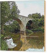 Old Stone Bridge Wood Print