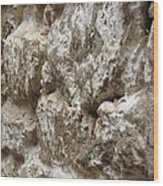 Old Stone Wall Wood Print