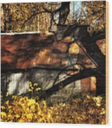 Old Sugar Shack Wood Print