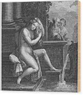 Old Testament: Shoshanna Wood Print