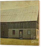 Old Textured Barn Wood Print