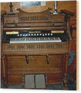 Old Time Music Wood Print